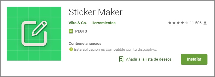 crear sticker para whatsapp