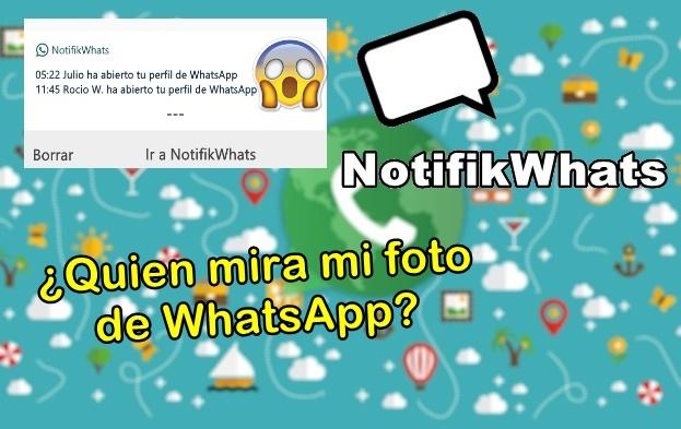 quien mira la foto de tu perfil de whatsapp