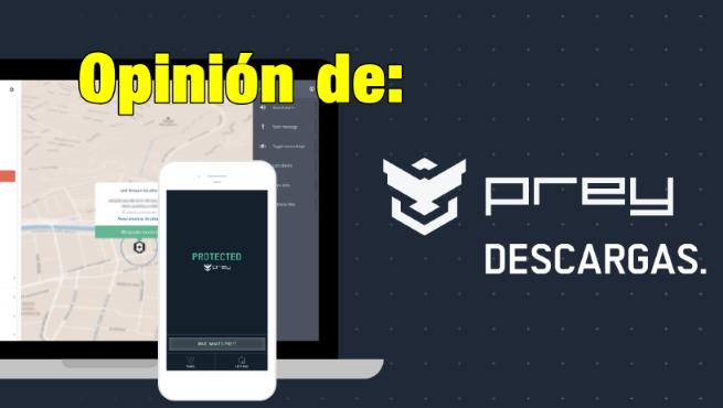 prey antirrobo app para localizar moviles