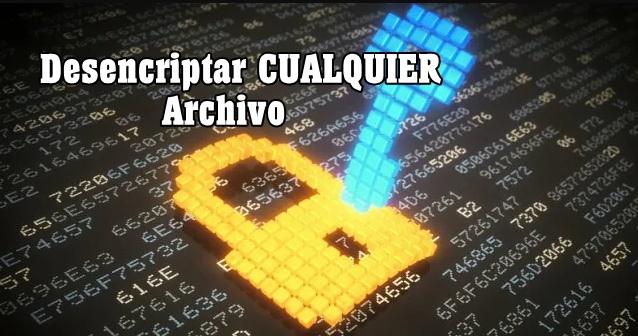 archivos encriptados
