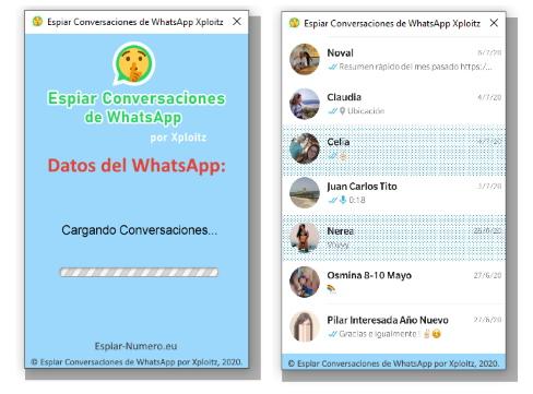 conversaciones de whatsapp espiadas por xploitz
